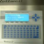 Display and keyboard